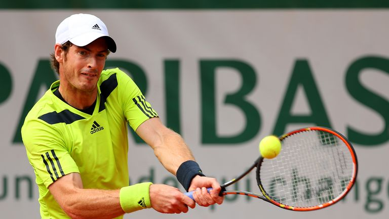 Andy Murray: Had a comfortable passage through to the third round against Marinko Matosevic