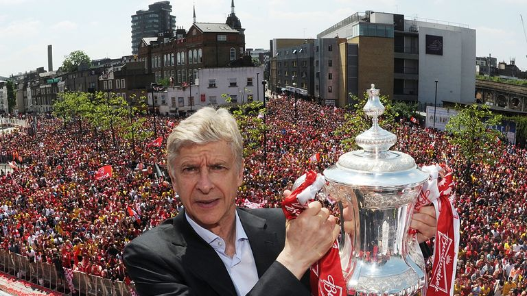 Arsene Wenger: Has signed a new three-year contract