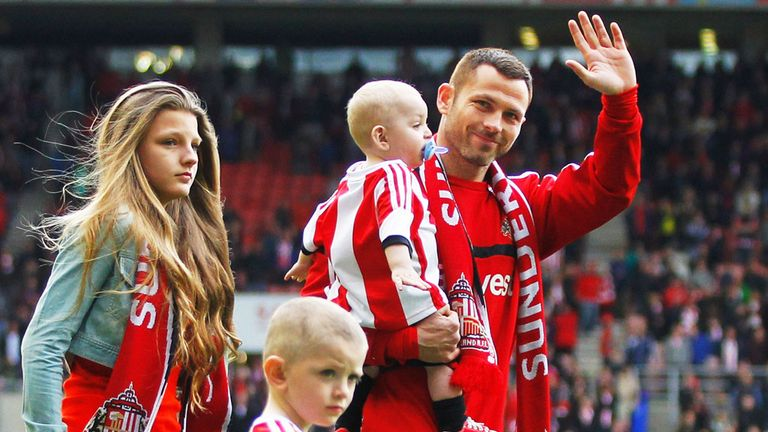 Phil Bardsley: Had been one of Sunderland's longest-serving players