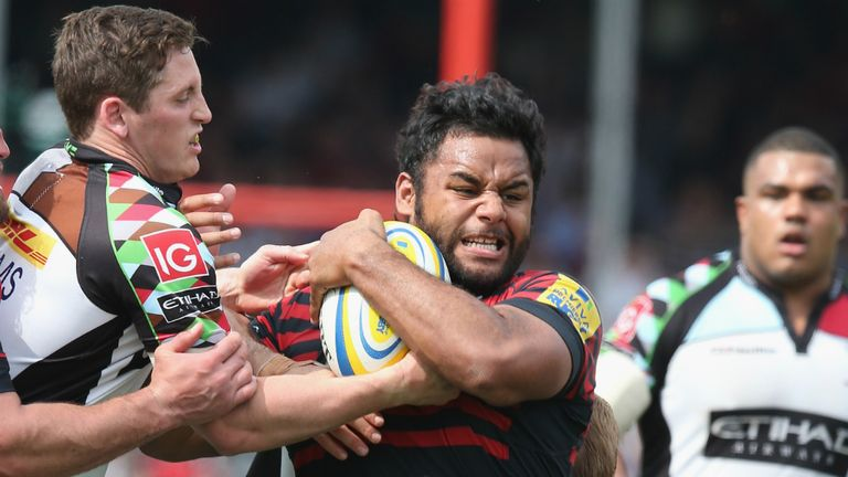 Saracens: Billy Vunipola eyes cup double