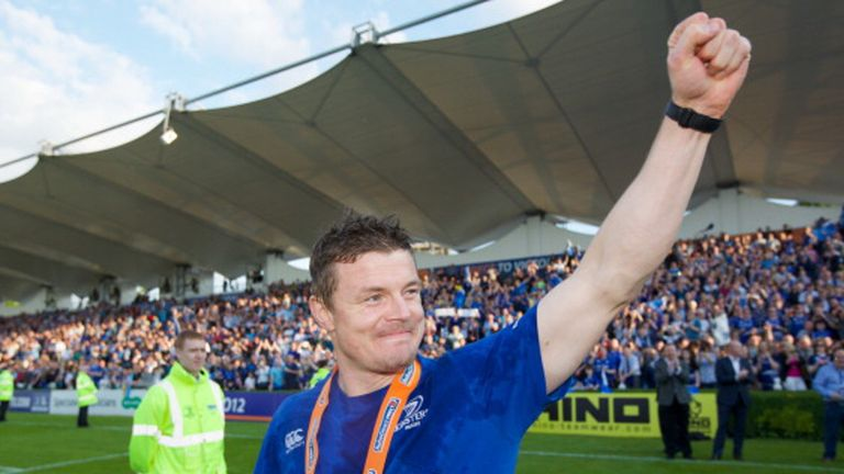 Brian O'Driscoll says goodbye to his adoring public