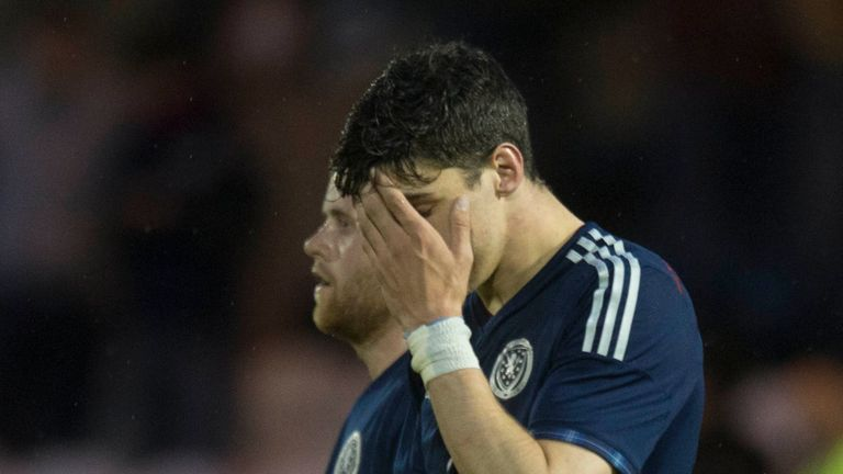 Callum Paterson: Shows Scotland dejection
