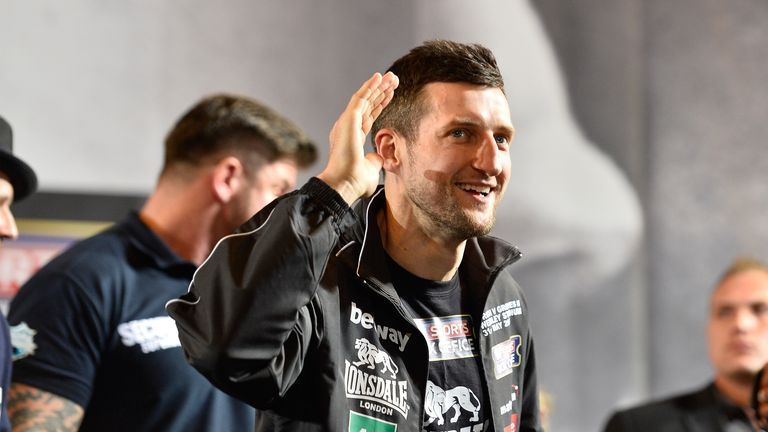 Carl Froch refused to get drawn in by George Goves second time around