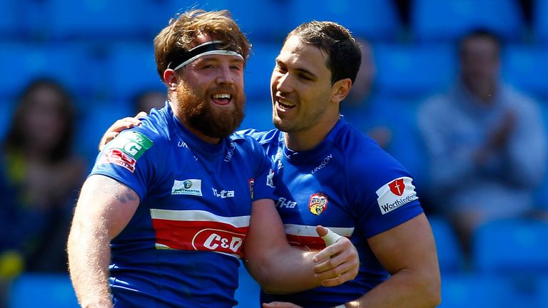 Danny Kirmond: Put Wakefield ahead with new coach James Webster relieved with the win