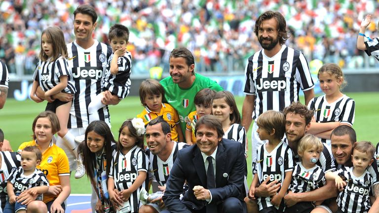 Antonio Conte (c): Wants to keep his best players in Turin