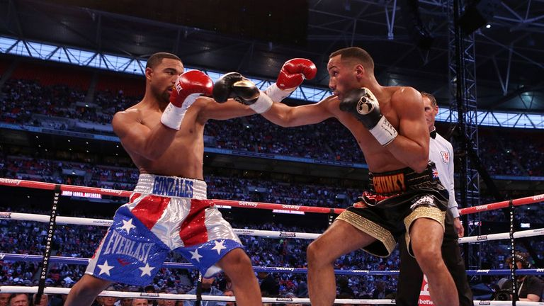 James DeGale (R): Produced a razor sharp display against Brandon Gonzales