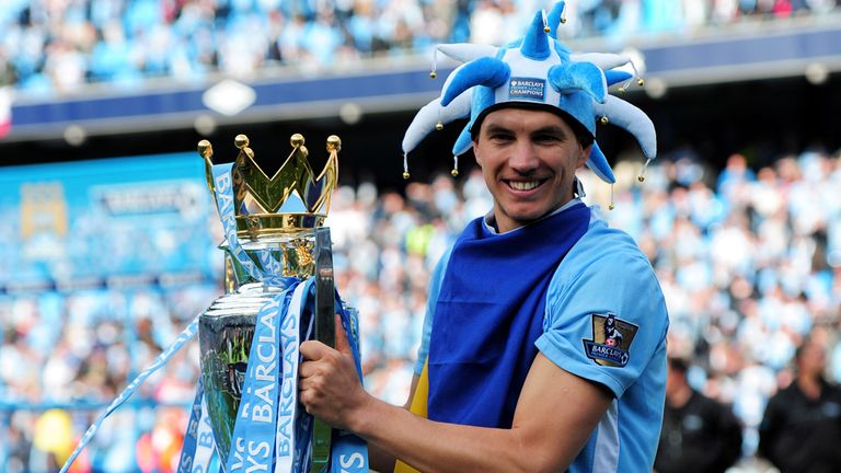 Edin Dzeko: Has entered the final year of his contract