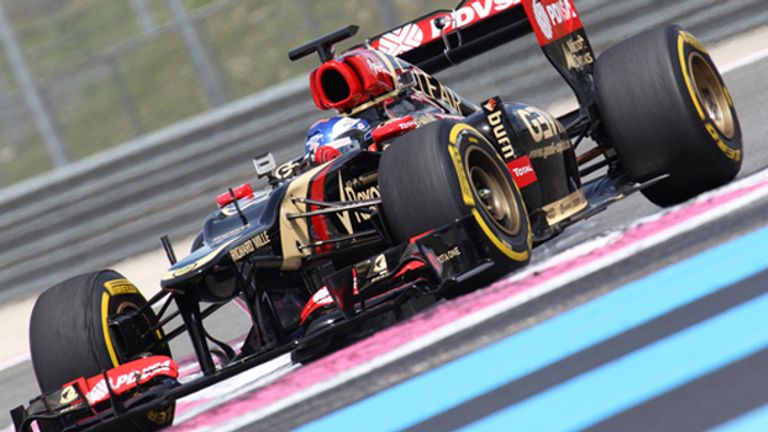 Fabio Leimer: Tested a 2012 Lotus at Paul Ricard