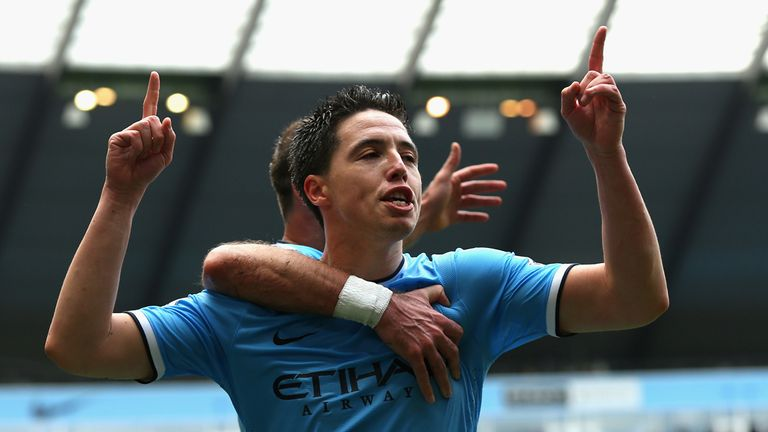 Samir Nasri: New deal with Premier League champions