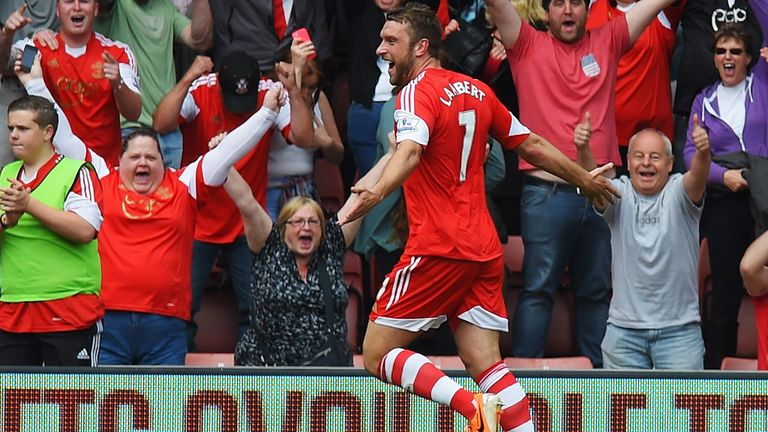 Rickie Lambert: Could be heading to Liverpool