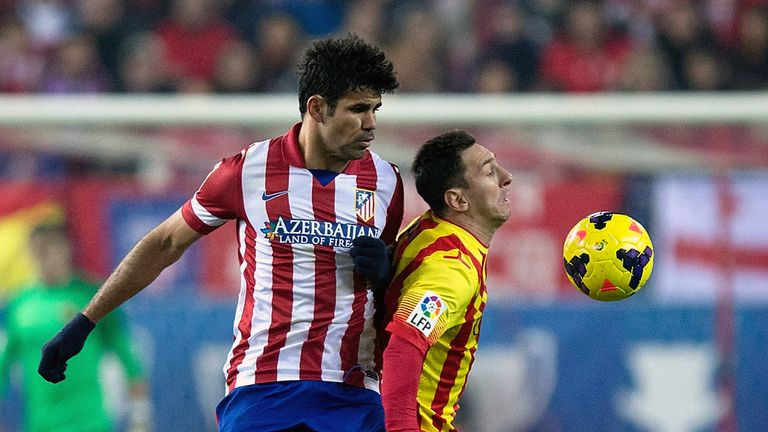Diego Costa and Lionel Messi: Battling for La Liga glory