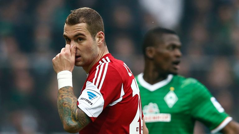 Pierre-Michel Lasogga: Hertha Berlin striker has impressed on loan Hamburg