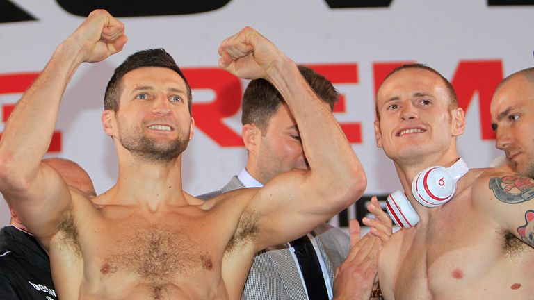 Carl Froch and George Groves: Fighting for two world titles