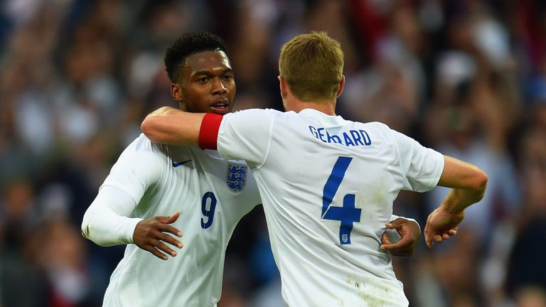 Daniel Sturridge formed part of a remarkably attacking England starting line-up