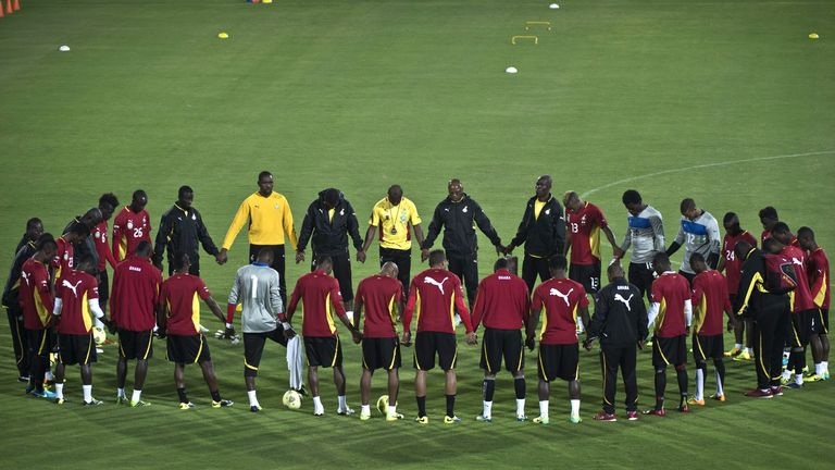 Ghana: Hoping to improve on their quarter-final appearance in 2010