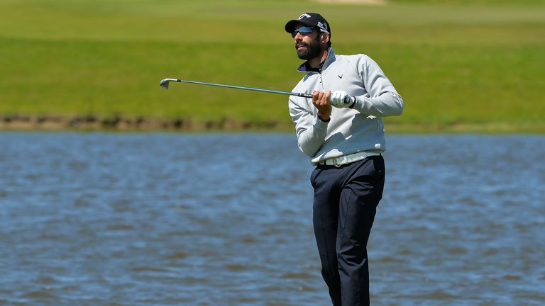 Alvaro Quiros: Tied at the top in Sweden