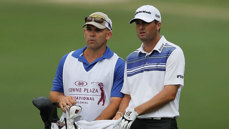 Ryan Palmer's caddie James Edmondson is a member at Colonial