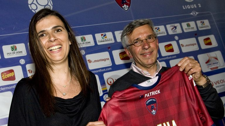 Helena Costa: Unveiled on Thursday at Clermont