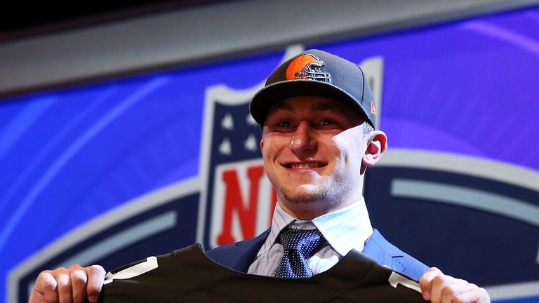 Johnny Manziel: the other superstar in Cleveland