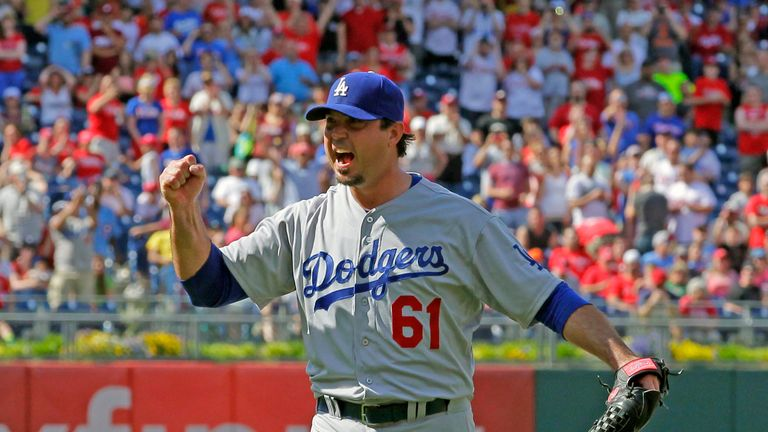 Josh Beckett: Celebrates the first 'no-hitter' of his career