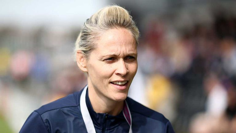 Shelley Kerr: Won three trophies while in charge at Arsenal Ladies