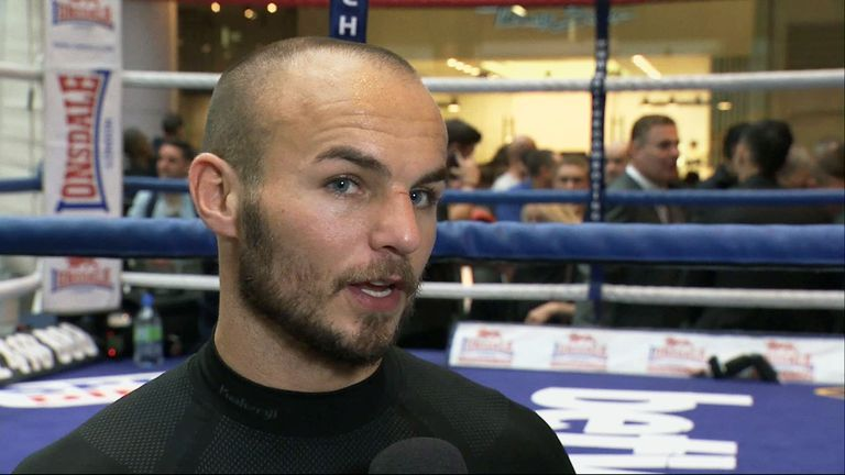 Kevin Mitchell: Keen to book world title shot