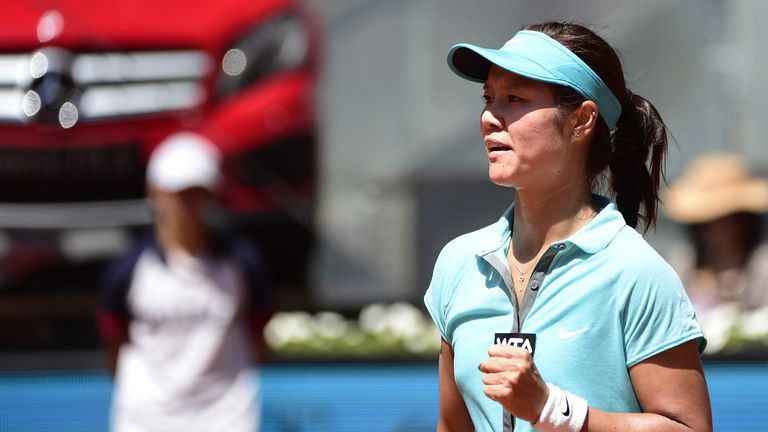 Li Na: Through to the quarter-finals of the Mutua Madrid Open