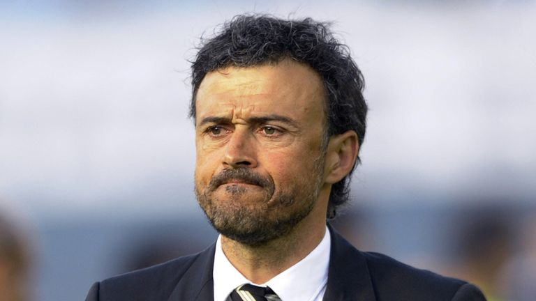 Luis Enrique: Brings a strong squad for training camp in England