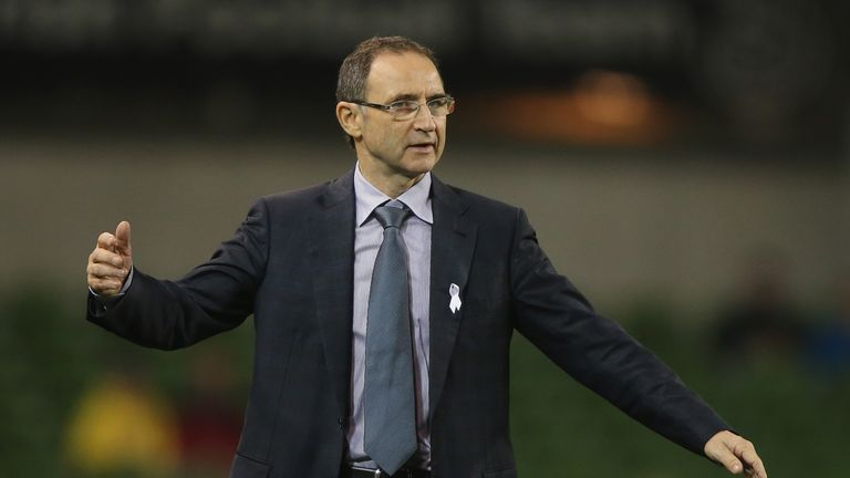 Martin O'Neill: Republic of Ireland boss is backing trio
