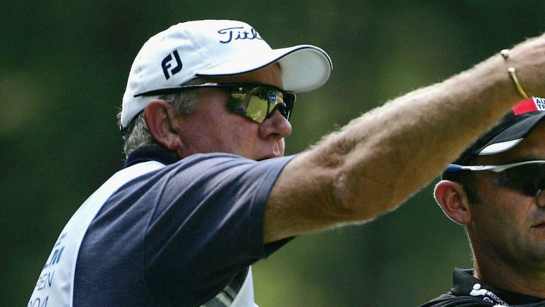 Iain McGregor: Respected caddie died after suffering a heart attack in Madeira