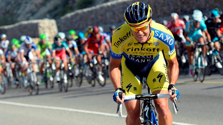 Nicholas Roche is looking to follow-up his fifth place at last year's Vuelta a Espana