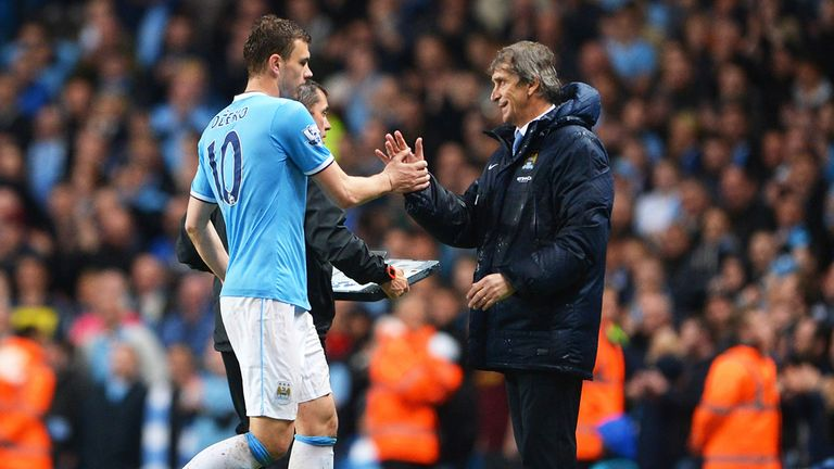 Manuel Pellegrini: Says Manchester City kept their cool to beat Aston Villa