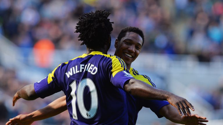 Wilfried Bony and Jonathan De Guzman: Both looking to stay at Swansea