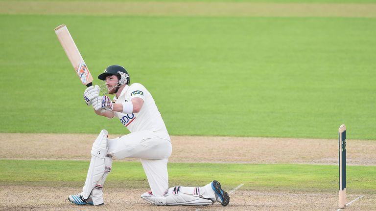 Riki Wessels: Notts batsman hit 158 against Northants