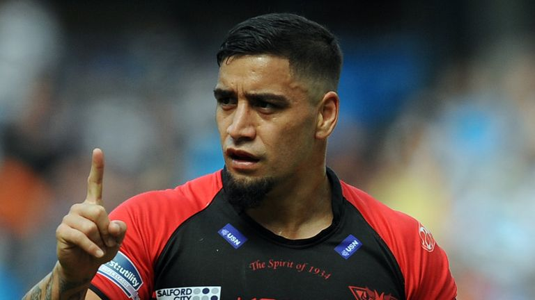 Rangi Chase: Pulled the strings for Salford Red Devils on Friday night