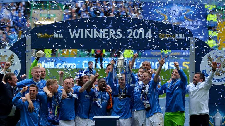 St Johnstone lift the Scottish Cup for the first time