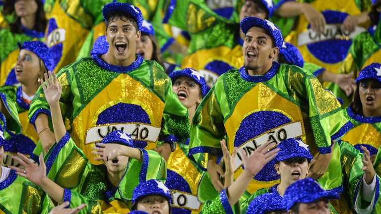 The carnival atmosphere in Brazil will be quite the spectacle albeit with caveats