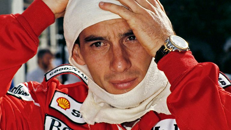 Ayrton Senna, McLaren's most successful driver (Photo ©John Dunbar)