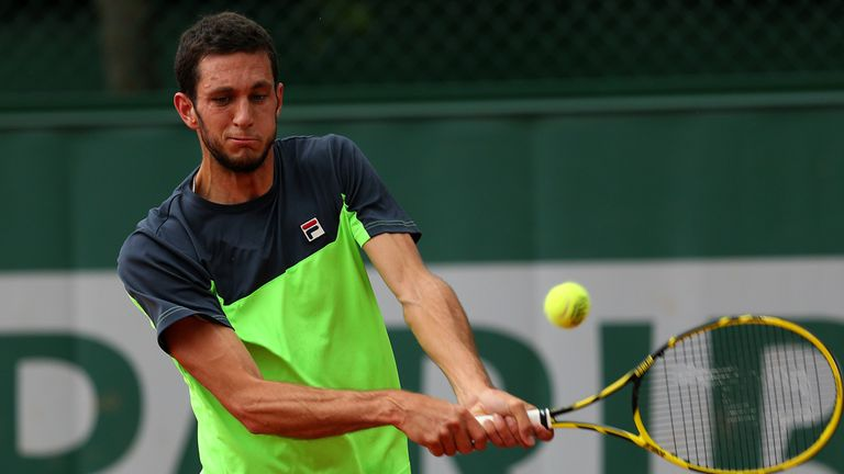 James Ward: Beaten in four sets by Tommy Robredo at French Open