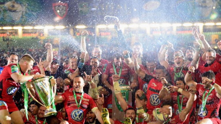 Toulon are crowned European champions in 2014
