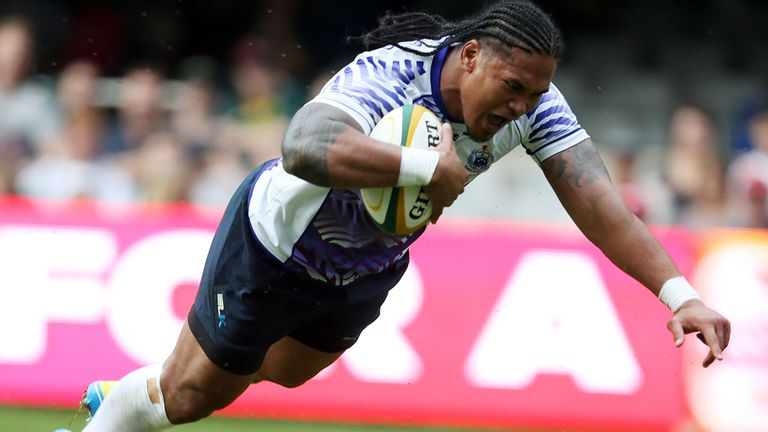 Alesana Tuilagi: Won three Premiership titles with Leicester