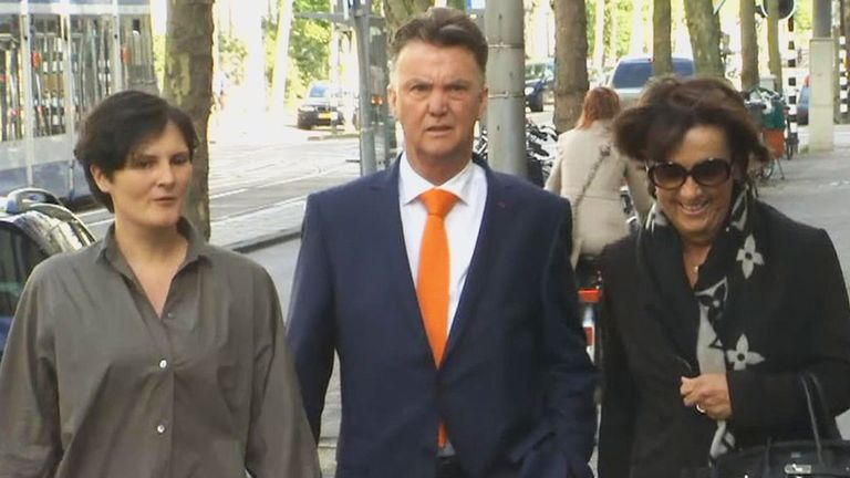 Louis van Gaal: Expected to take charge of Manchester United