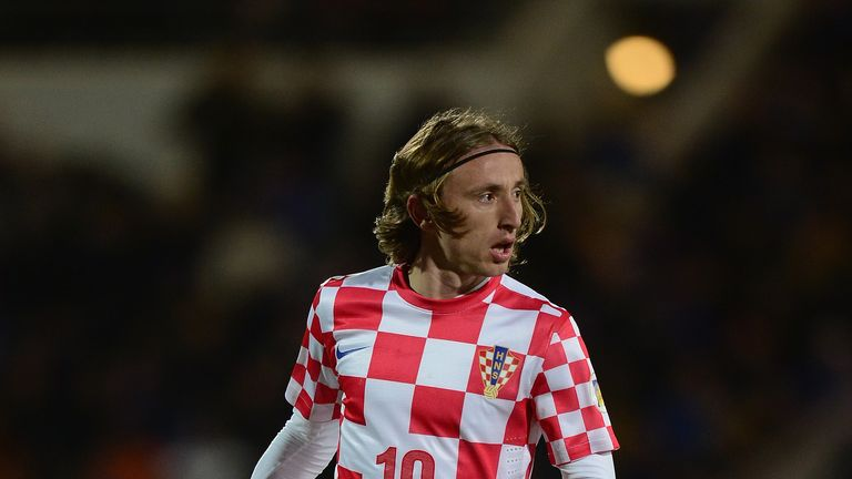 Luka Modric: Insists that Croatia will not sit back against Brazil in their World Cup opener
