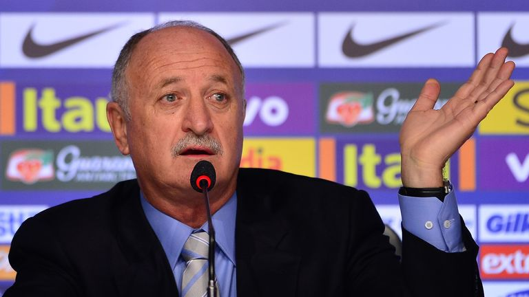 Luiz Felipe Scolari: Announces his 23-man squad in Rio