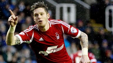Greg Halford: Nottingham Forest man suffered an ankle injury in training
