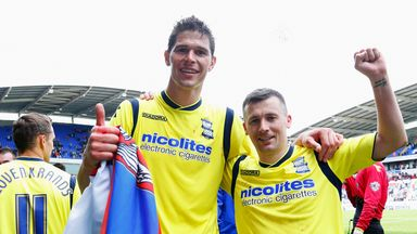Nikola Zigic: Set to leave Birmingham after four years at St Andrew's
