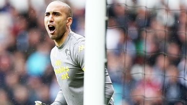Lee Grant: Derby keeper watched the club's last playoff final from the stands