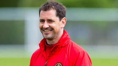 Jackie McNamara: Delighted with his fifth signing of the window