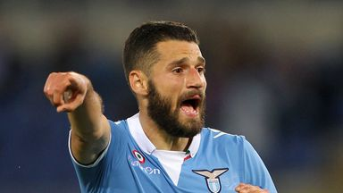Antonio Candreva: Pleased to have extended stay in Rome
