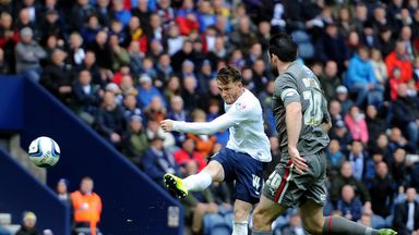 Joe Garner: Yet to sign a new deal at Preston